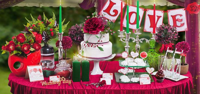 Набор для оформления свадьбы