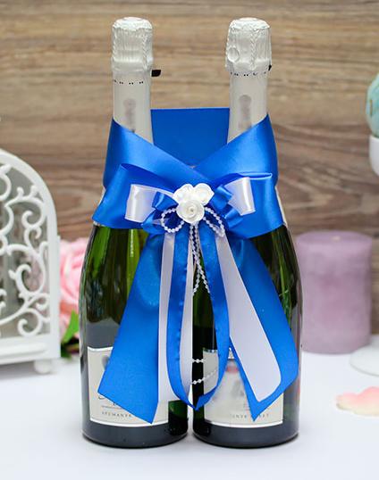 Декоративное украшение для шампанского Fantastic (синий)