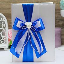 """Папка для свидетельства о браке """"Fantastic"""" (синий)"""