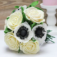 Букет-дублер (техника холодной керамики)