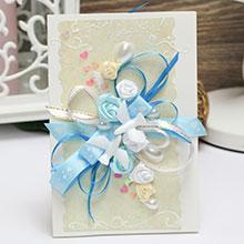 Свадебная открытка ручной работы (#036)
