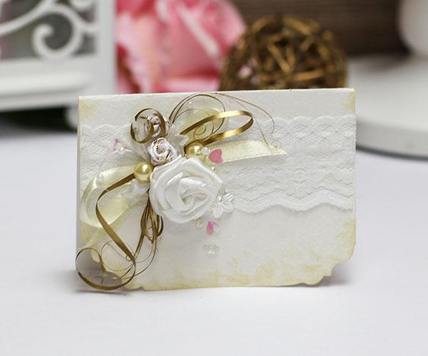 Приглашение на свадьбу ручной работы (#048)