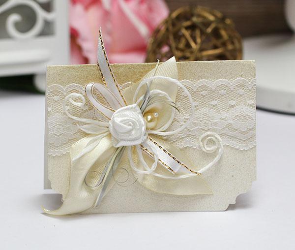Приглашение на свадьбу ручной работы (#049)