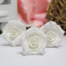 """Шпилька для прически невесты """"Цветок"""""""