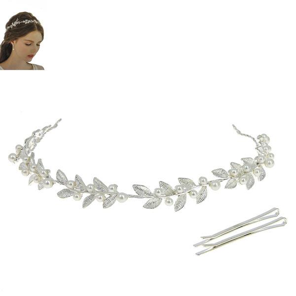 """Мягкий ободок для невесты """"Pearls"""""""