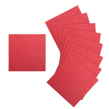 Упаковка однотонных салфеток (20 шт, 25х25 см)