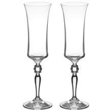 Набор изящных бокалов для шампанского (2 шт)