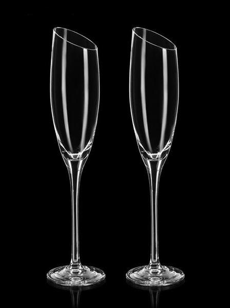 Оригинальные бокалы для шампанского (2 шт)
