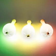 Светящийся воздушный шар со светодиодом (многоцветный)