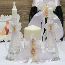 """Набор свадебных свечей """"Шахрезада"""""""