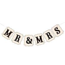 """Гирлянда для фотосессии """"Mr & Mrs"""" (105 см)"""