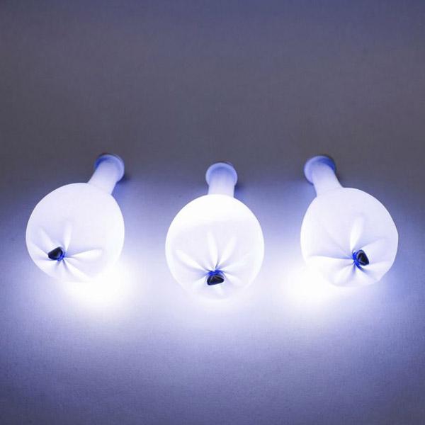 Светящицся воздушный шар со светодиодом (синий)