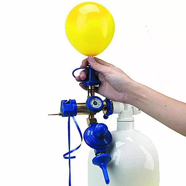 Наполнение шаров гелием (25-30 см. с обработкой Hi-float)