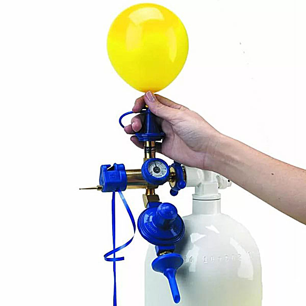 Наполнение шаров гелием (40-45 см. с обработкой Hi-float)
