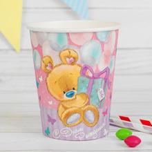 Набор бумажных стаканчиков Мишка ми-ми-мишка (10 шт)