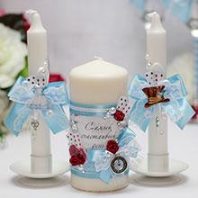 "Домашний очаг + 2 свечи ""Алиса в стране чудес"""