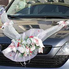 Лента на свадебную машину «Зимняя любовь»