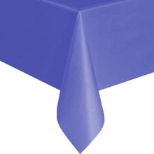 Однотонная скатерть для праздника (фиолетовая, 137х183 см)