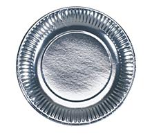 "Одноразовые тарелки ""Серебро"", 6 шт."