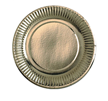 "Одноразовые тарелки ""Золото"", 6 шт."