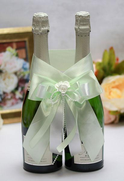 Декоративное украшение для шампанского Fantastic (мятный)