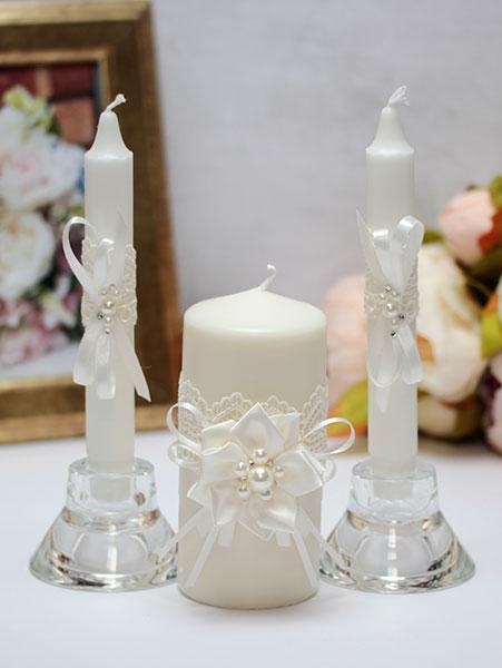 """Домашний очаг + 2 свечи """"Нежные цветы"""" (без подсвечников)"""