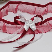 """Свадебная подвязка для невесты """"Яна"""""""