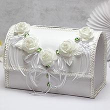 """Свадебный сундучок для подарков открывающийся """"Сокровище"""""""