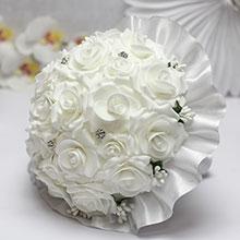 """Букет-дублер для невесты """"Свадебная мечта"""" (белый)"""
