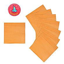 Салфетки бумажные, оранжевые (16 см, 20 шт)