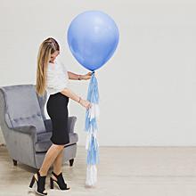 """Шар воздушный с тассел-лентой """"Малыш"""" , 60 см."""