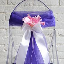 фиолетовый фатин