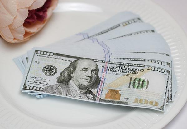 """Деньги игровые для выкупа """"100 долларов"""""""