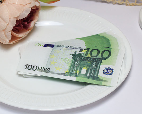"""Деньги игровые для выкупа """"100 евро"""""""
