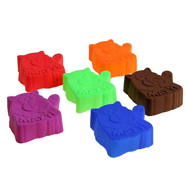 """Сувенирный набор форм для запечания """"Котэ"""", 3 шт. (микс цветов)"""