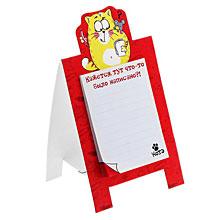 """Сувенирный блокнот с отрывными листами """"Котэ"""", 30 листов"""