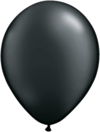 Шар круглый (30 см) черный