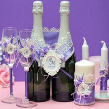 Комплект свадебных аксессуаров Летний вечер