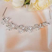 Мягкий ободок для невесты