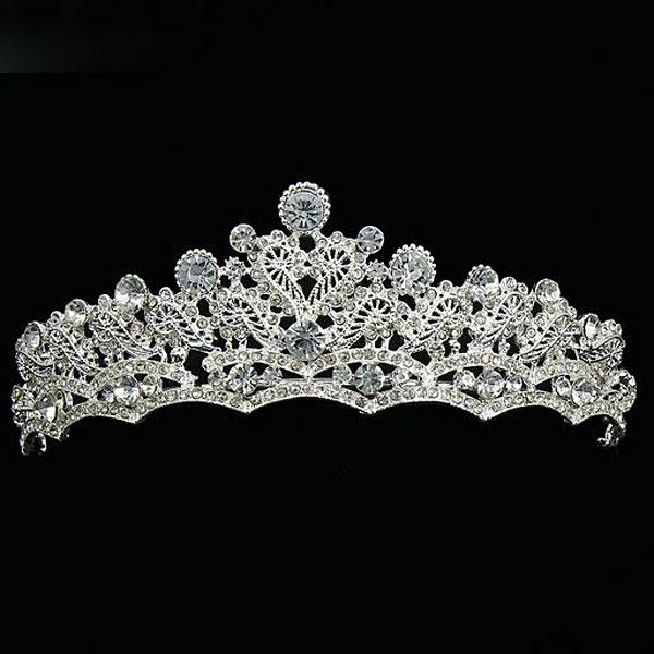 """Свадебная диадема для невесты """"Королевский изыск"""""""