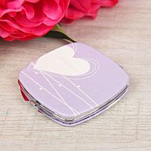 """Сувенирное складное зеркало """"Любовь"""", двухсторонее, без выбора цвета"""
