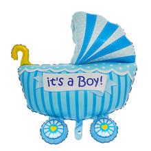 """Фольгированный воздушный шар """"It's a boy"""" (87 см)"""