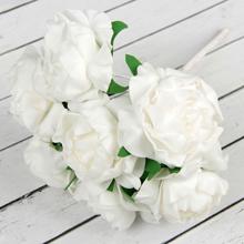 """Букет-дублер для невесты """"Камилла"""" (белый)"""