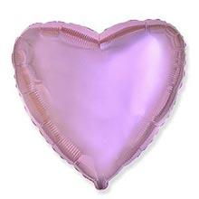"""Фольгированный шар """"Милое сердце"""", розовый (45 см)"""