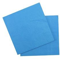 Бумажные салфетки, голубой (12 шт, 33 см)