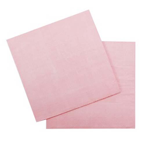 Бумажные салфетки (12 шт, 33 см) (нежно-розовый)