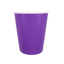 Бумажные стаканчики, фиолетовый (6 шт, 250 мл)