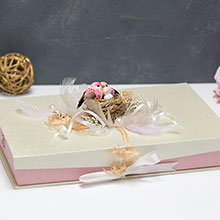 Подарочная коробка Семейное гнездышко
