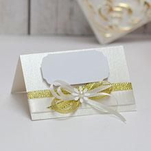 Банкетная карточка для гостей Семейное гнездышко