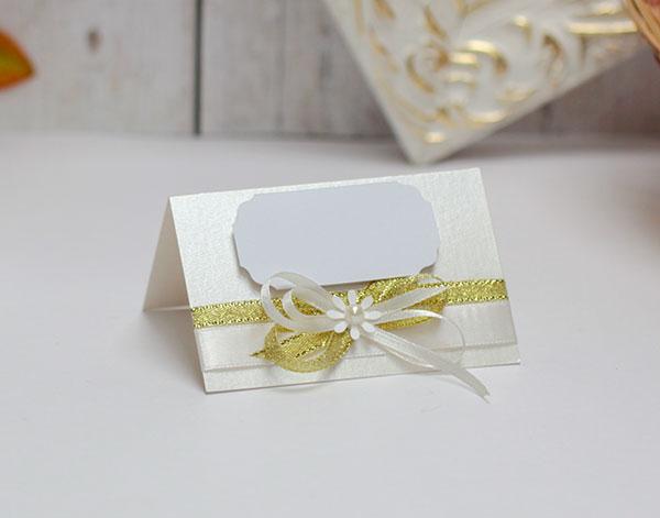 """Банкетная карточка для гостей """"Семейное гнездышко"""""""